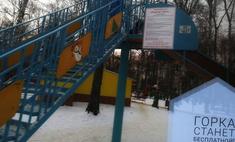 подмосковье муниципалитет пытался детей рублей катание ледяной горке