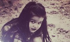 Ксения Бородина показала свое детское фото