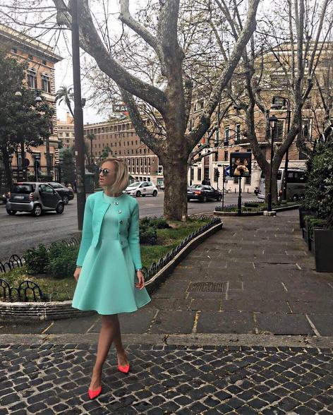 Ольга Бузова в Риме
