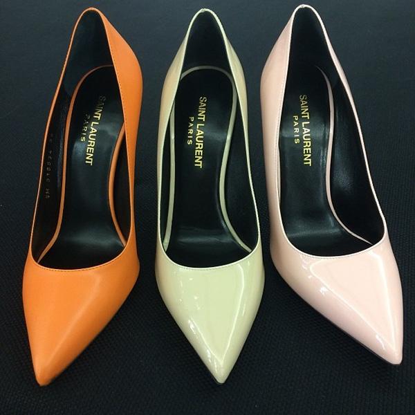 Туфли Ксении Собчак от Saint Laurent