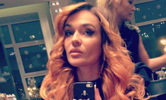 Алена Водонаева перекрасила волосы в рыжий цвет