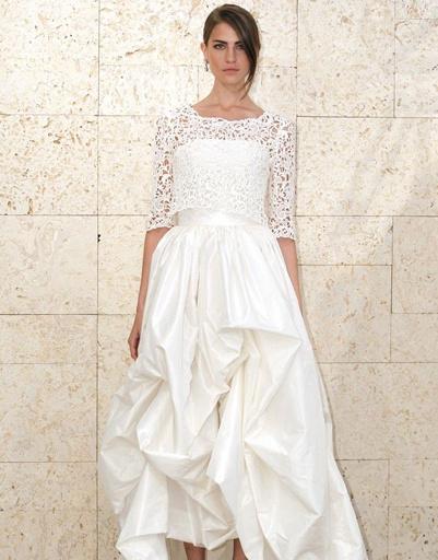 Свадебное платье Oscar de la Renta, коллекция весна-лето 2012