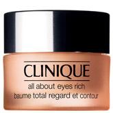 Крем для кожи вокруг глаз против припухлостей и темных кругов All About Eyes Rich от Clinique обеспечивает глубокое и длительное увлажнение