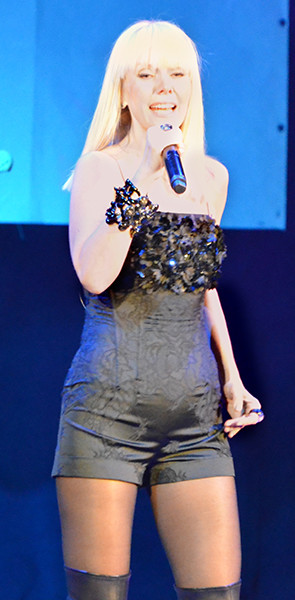 Валерия на концерте