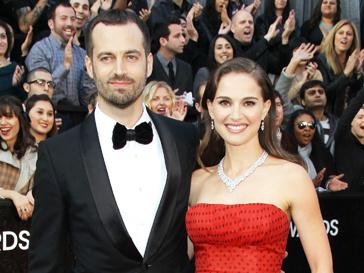 Натали Портман (Natalie Portman) и Бенжамен Мильпье (Benjamin Millepied)
