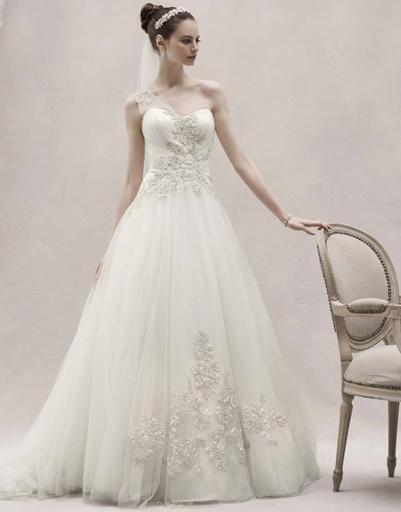 Свадебное платье Oleg Cassini, коллекция весна-лето 2012