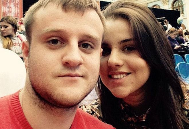 Игорь Огурцов с невестой, фото