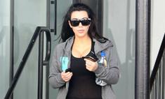 Ким Кардашьян подражает беременной Виктории Бекхэм