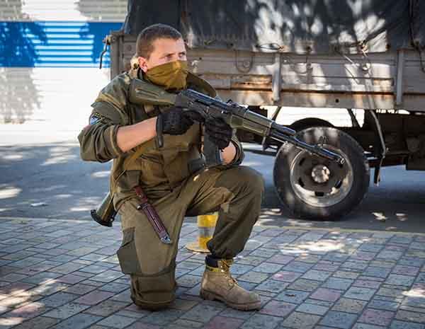 Военнослужащий, фото