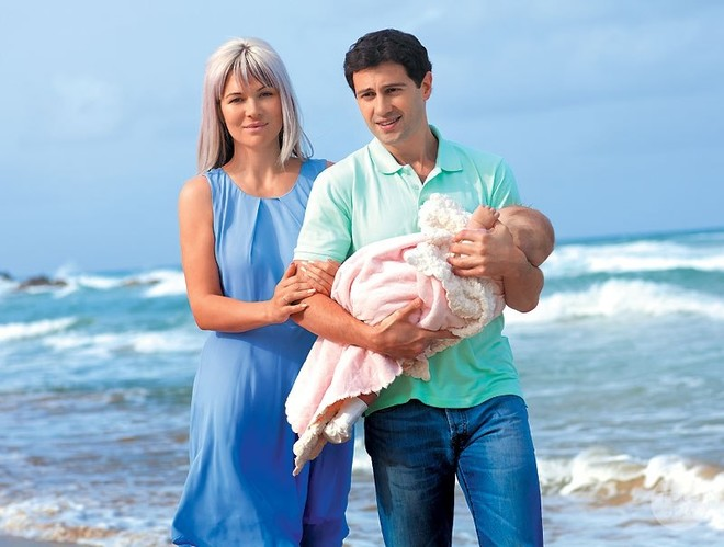 Антон Макарский с дочерью фото