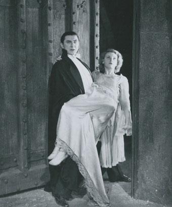"Кадр из фильма ""Дракула"", 1931 год"