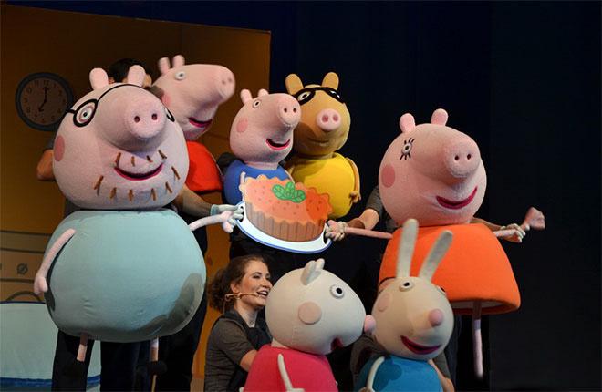 Свинка Пеппа в Ростове, куда пойти в Ростове, афиша Ростова, куда пойти с ребенком, мультяшные герои