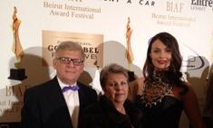 Оксана Федорова получила премию мира в Бейруте
