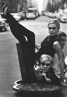 Энди Уорхол с друзьями, 1965 год.