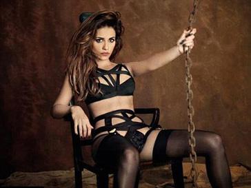 Моника Крус (Monica Cruz) в рекламной кампании Agent Provocateur, осень-зима 2012/13