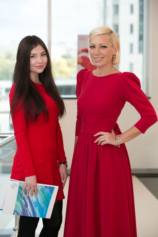 аврора и прбедительница конкурса фотографий соня худайбердиева