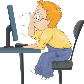 Обязуюсь сидеть за компьютером не больше часа в день!