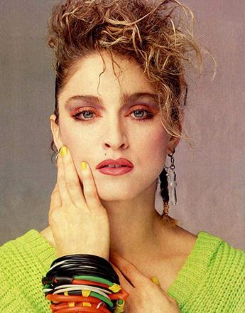 В начале 90-х Мадонна стала настоящей иконой стиля