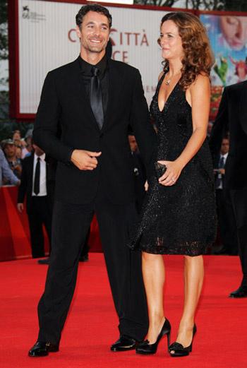 Рауль Бова с женой