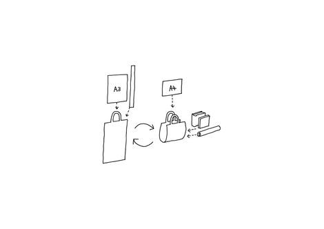 Tod's представил идеальную сумку для архитекторов | галерея [1] фото [1]