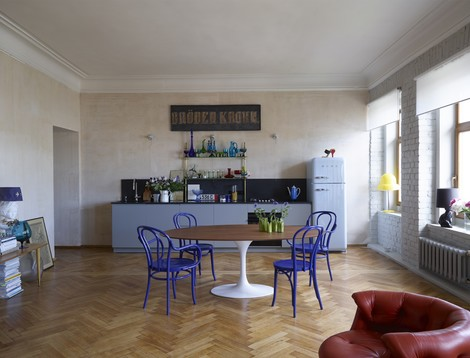 Лучшие интерьеры квартир 2014: вспомнить всё! | галерея [1] фото [7]