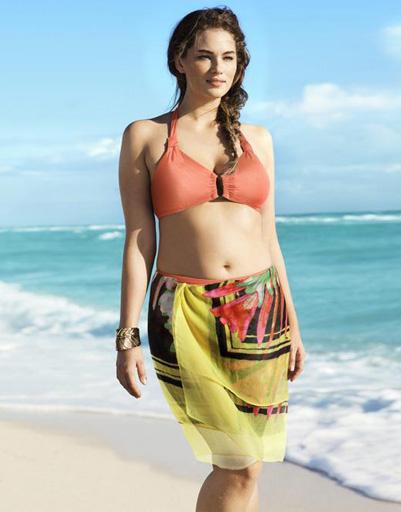 Дженни Ранк (Jennie Runk) в пляжной рекламной кампании H&M лето-2013