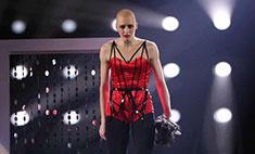 Анастасия Вядро станцевала соло в красном боди