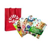 Пляжная сумка от Wday.ru и набор женских книг.