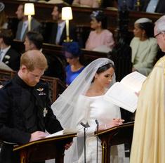 Он заплакал от ее красоты! Свадьба Гарри и Меган - как это было