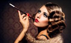 Романтический образ с макияжем в стиле ретро