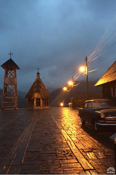 В деревне Кустурицы в Мечавнике