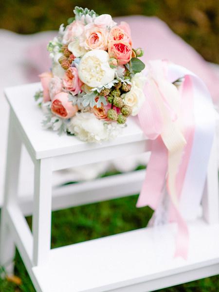 Свадьба в пастельных оттенках