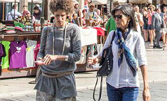 Италия, уличный стиль: объем, платформы, детали
