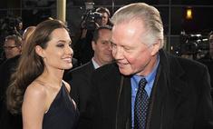 Анджелина Джоли публично помирилась с отцом