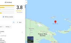самые странные обзоры мест google maps