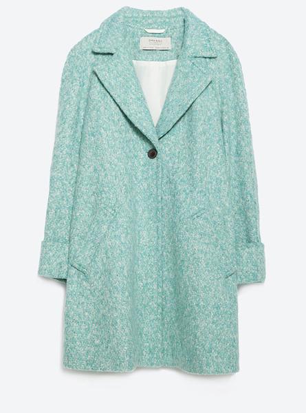 Пальто Zara, 6999 руб.
