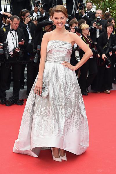 Виктория Боня на открытии Каннского кинофестиваля - 2014