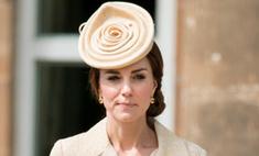 Модный провал: поклонники высмеяли шляпку Миддлтон