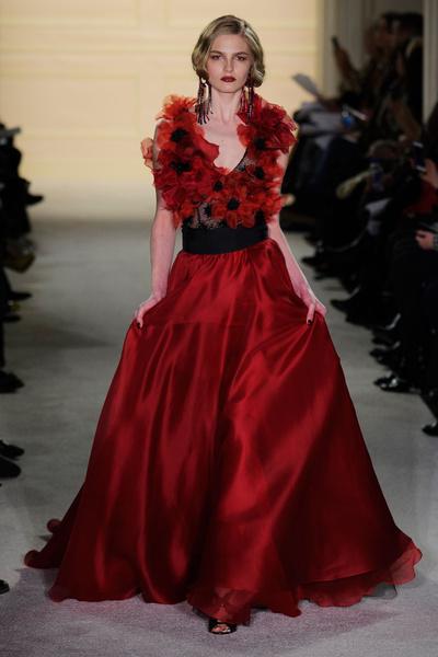 Показ Marchesa на Неделе моды в Нью-Йорке | галерея [1] фото [2]