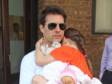 Том Круз с дочерью, Сури Круз