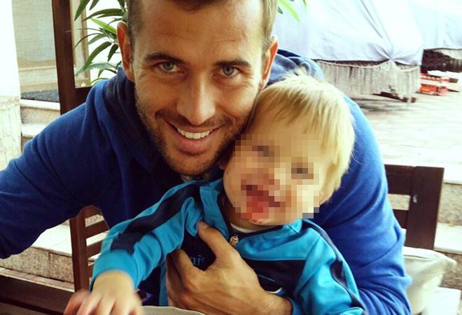 Александр Кержаков с сыном, фото