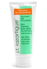 Крем Vita Cream with Milk Proteins, j.f. lazartigue лечит тонкие и поврежденные волосы. Он обогащен витамином Е и молочными протеинами. Средство «оживляет» тусклые волосы, препятствует спутыванию, делает их более пышными и блестящими.