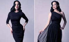 Дита Фон Тиз создала коллекцию платьев в стиле 50-х