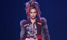 Шейк удивила дредами на Неделе моды в Нью-Йорке
