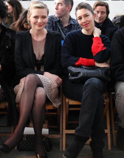 Кирстен Данст (Kirsten Dunst) и София Коппола (Sofia Coppola)