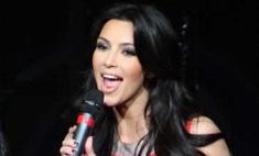 Ким Кардашьян завершает работу над дебютным альбомом