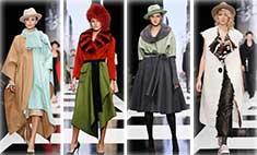 Неделя моды, день пятый: платья для беременных, боа и накидки