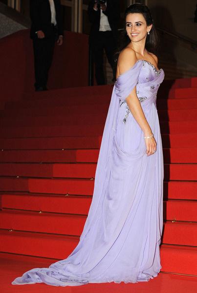 Пенелопа Крус в платье Marchesa