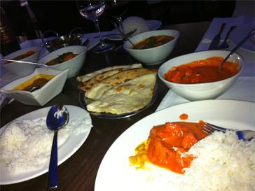 Виктория Лопырева любит экзотическую - индийскую, кухню.