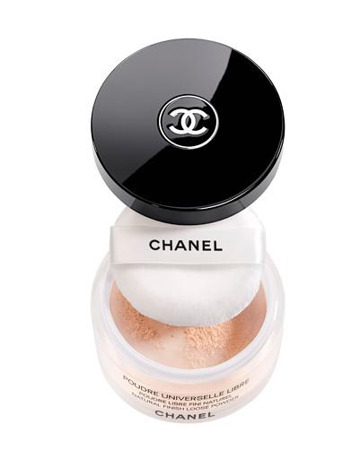 Рассыпчатая пудра для создания натурального макияжа Poudre Universelle Libre, Chanel